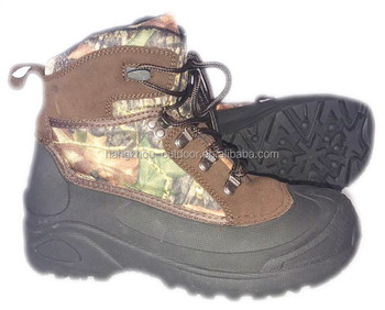 2017 Mens Camouflage Winter Hunting Boots