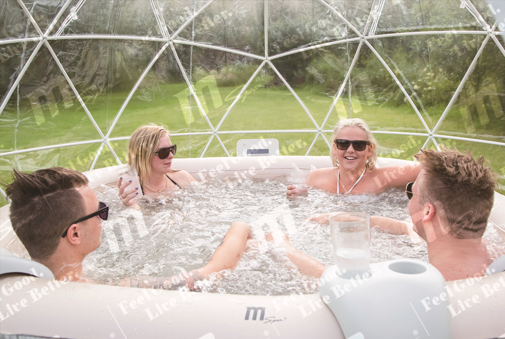 Portable whirlpool spa / inflatable spa pool / hot tub Bliss JB-304 6 person