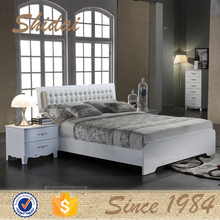 B811 modern design king size wooden bed / wood bed for adults / children wooden double bed designs