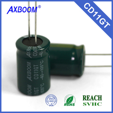 throuh hole package type and general purpose application 6.8uf 10*20 450v Aluminum Electrolytic Capacitor