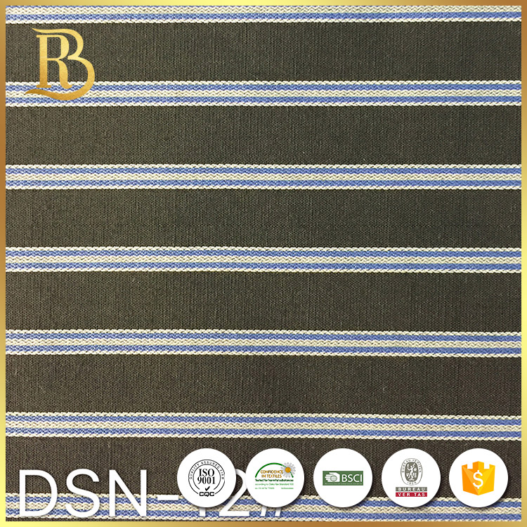 Hot Sale Cotton Soft Check Dope Microfilament Woven Yarn Dyed Fabric