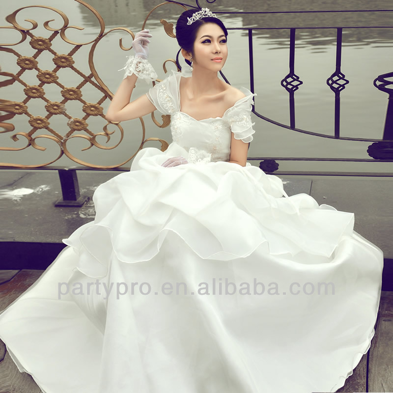 2014 hot sell wedding dresses expensive but the noblest wedding dresses