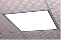 Warm White Ceiling Panel Light , 600x600x12mm 36 Watt SMD3014 3100lm LED Flat Panel Lights /