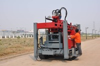 Newly Developed RC6 Full Hydraulic Drilling Rigs 800m Water Well Drill Rig