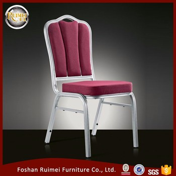 Commercial Quality Indoor Stackable Aluminum Chair aluminium furnitureE035-2