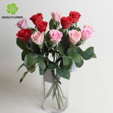 Artificial flower guangzhou supplier flower hot flowers artificial mini roses
