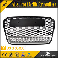 JC Sportline ABS Front Sport S6 RS6 Front Bumper Q Grill Grille fit for Audi A6 2013 2014