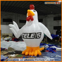 10ft cheap oxford advertising giant inflatable chicken model