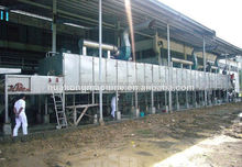 New environmental multi-layer drying machine, mesh belt dryer