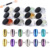 12 colors nail mirror effect pigment powder