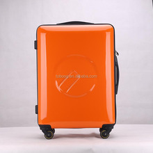 2017 Promotion Excellent Quality ABS+PC Material Aluminum Trolley Luggage Box With Spinner Hardcase, Factory Price