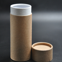 hot sale recycle kraft paper box push up paper tubes for lip balm