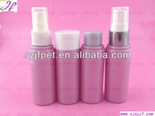 plastic essential olive shampoo pump oil bottle
