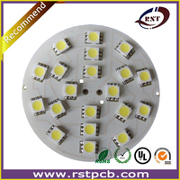 RoHS Approved aluminum/FR4 panel LED PCB manufacturer in Shenzhen.Professional LED PCB assembly in China