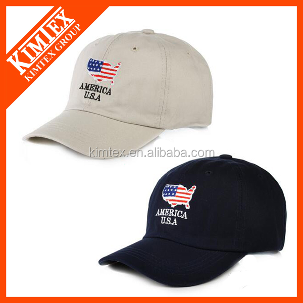 American style trucker caps /baseball caps / sports caps with flat embroidery logo