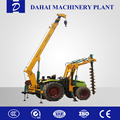 Earth auger drilling rig/Bored pile in spiral machine
