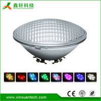 Cheapest 24W 36W 40W RGB Single color par56 swimming pool led light
