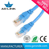 Made in china provider copper cable scrap 4pairs 24awg utp cat5e patch cord 5e 1m 2m 3m