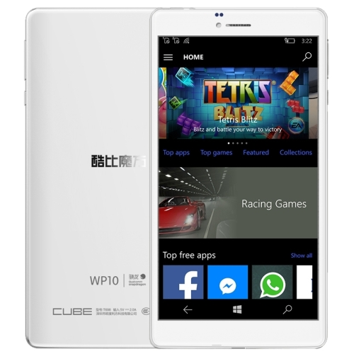 Original Dual Camera Cube WP10 Call Tablet, 2GB+16GB Qualcomm MSM8909 3G 4G Network PC