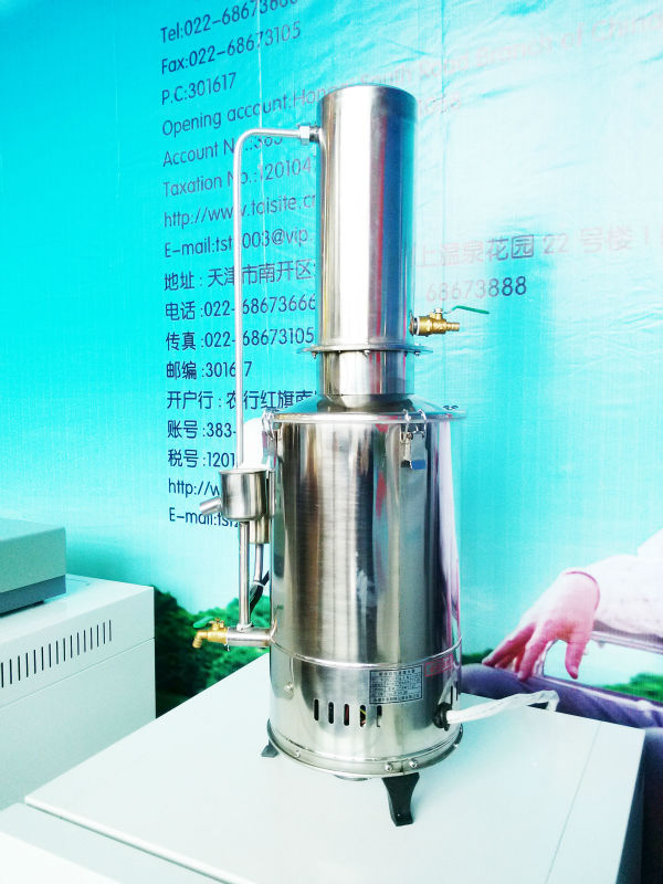 Laboratory Instrument stainless steel water distilation machine for laboratory CE