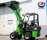 hot sale electric mini wheel loader zl 06 radlader with Kipor