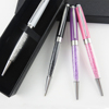 Office supply wholesale Cheap Ballpoint Pen with crystal for Promotion