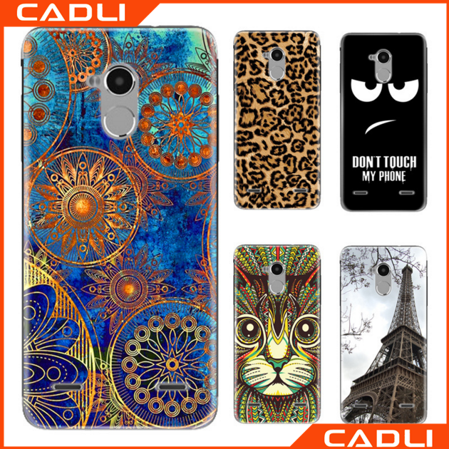 Printed Multi Pictures TPU Silicone Cover Phone Case For Zte Blade V7 Lite