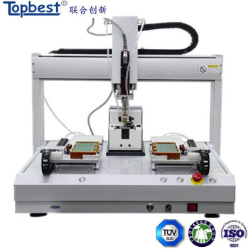 High Efficiency Desktop Automatic Screw Locking machine with Two Stations
