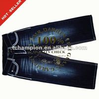 (#TG225G) 2012 fashion heavy stitch new style girls branded jeans