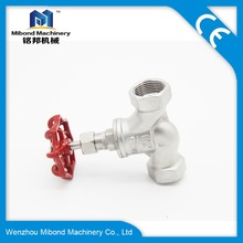 Hot Sale/Top Sale manual stainless steel air cast steel Control Valve globe valve/Screwed End Stop Valves