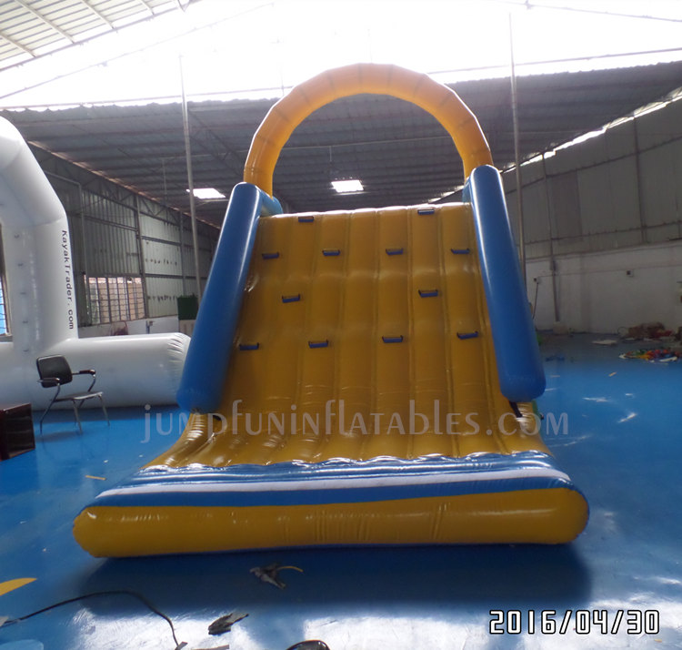 Inflatable Float Slide for large inflatable water park 2017 cheap freefall inflatable slide aquatic sports