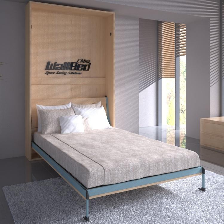 Mecanismo de cama plegable cama de la pared oculta pared - Cama plegable pared ...