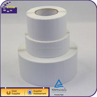promotional skin adhesive sticker paper roll blank label tag