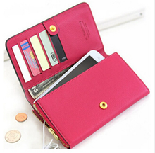 Shemax Luxury wallet design credit card holder pu leather phone case for iphone 5