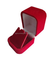 a red cute jewelry gift box