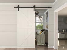 Rustic Style Arrow Sliding Barn Door Slab With barn door hardware
