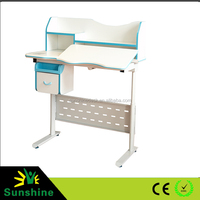 Manual and electric desk for office, automatic lifting metal ,school desk