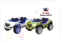 12V 10Ah rechargeable battery operated double seats ride on car