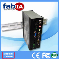 Din Rail Rugged Fanless Box PC (FX5312)