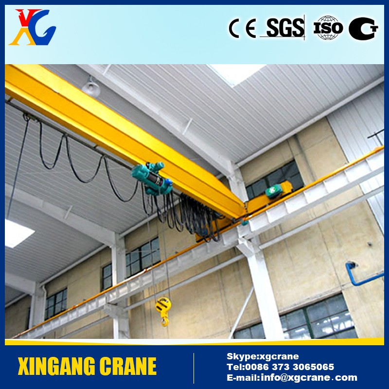 10 ton Mobile Workshop Motor-driven Overhead Eot Crane With Hook
