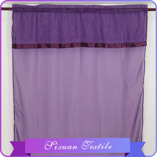 Baroque&Stripe Jacquard Organza Curtain Color Stripes Door Curtain Organza Sheer Curtains Designs