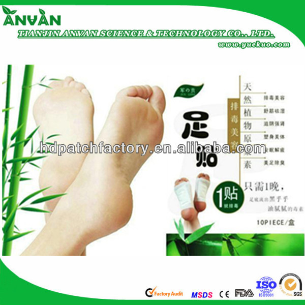 2013 Christmas grift hot new best sell with CE foot patch detox and foot pack sheet