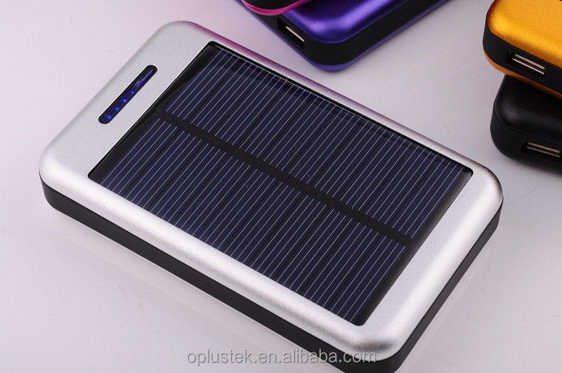 2016 new products hot sale in alibaba portable solar power bank for samsung 20000mah