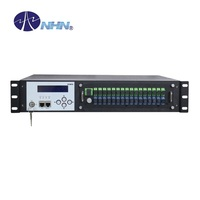 2U High Power Optical Amplifier CATV WDM EDFA with 16 Ports