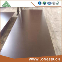 Construction grade 17mm black film faced plywood 1220 x 2440mm
