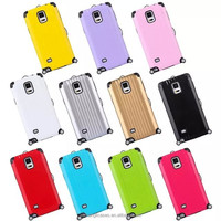 Wholesale Luggage Hybrid Cell Phone Case For Samsung Galaxy Note 4