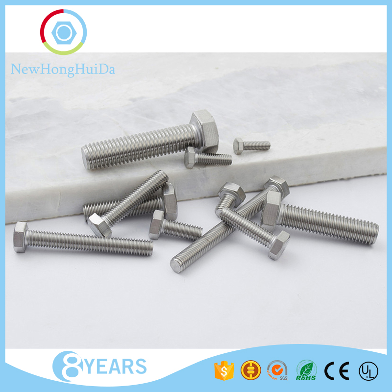 Mass supply high quality <strong>M10</strong> sizes 304 stainless steel <strong>hex</strong> head <strong>screw</strong>