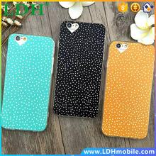 Hot Sale Simple Fashion Polka Dot Cases For iPhone6 6S plus iPhone6 4.7/5.5 Ultra Thin Phone Cases Back Covers For iPhone6 Case