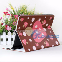 Hot sell leather flip tablet case cover for Ipad, tablet pc leather case