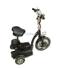 500W 3 Wheels China Foldable Electric Scooter